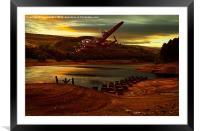 Last Light, Framed Mounted Print
