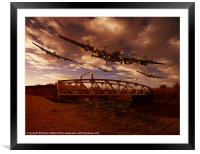 Low Flying, Training, Framed Mounted Print