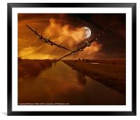 They're Coming, Framed Mounted Print