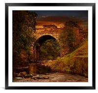Alport Bridge, Framed Mounted Print