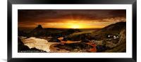 Kynance Cove, Framed Mounted Print