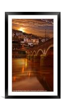 Looe Bridge, Framed Mounted Print
