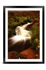 Wyming Brook, Framed Mounted Print