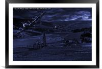 Thunder in the Valley, Framed Mounted Print