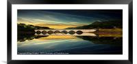 Ashopton Reflections, Framed Mounted Print