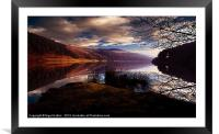 Derwent Reservoir, Framed Mounted Print