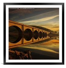 Heavenly Arches, Framed Mounted Print
