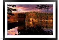 Howden Sunrise, Framed Mounted Print