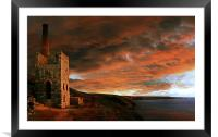 Towanroath Sunset, Framed Mounted Print