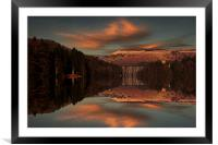 Howden Moor Reflections, Framed Mounted Print