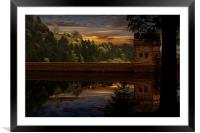 Derwent Dam Reflections, Framed Mounted Print