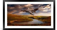 Tornado in the Valley, Framed Mounted Print