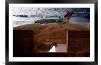 Tornado At Derwent Dam, Framed Mounted Print