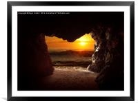 Cave, Framed Mounted Print