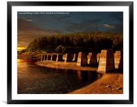 Standing Stones, Framed Mounted Print