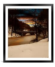 Fairholmes Bridge, Framed Mounted Print