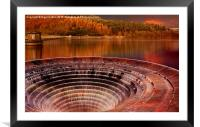 Plughole , Framed Mounted Print
