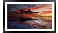 XH 558, Framed Mounted Print