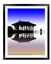 Promenade, Framed Mounted Print