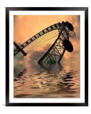 Disaster, Framed Mounted Print