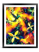 Lost Paradise, Framed Mounted Print