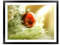Essence of Christmas, Framed Mounted Print