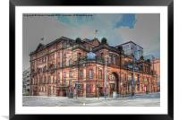 Kings Theatre Glasgow, Framed Mounted Print