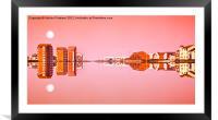 River Ayr Reflection, Framed Mounted Print