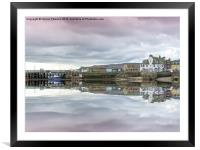 Millport Pier, Framed Mounted Print