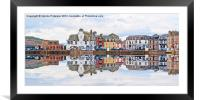 Millport Town, Framed Mounted Print