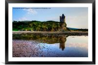 Greenan Castle, Framed Mounted Print