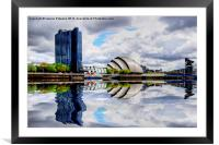 Armadillo & Crown Plaza, Framed Mounted Print