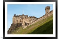 Edinburgh Castle, Framed Mounted Print