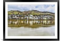 The Moselle Valley, Framed Mounted Print