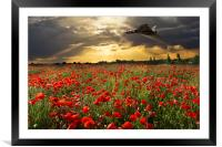 The Final Sortie Vulcan Bomber Version I, Framed Mounted Print