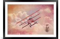 CRIMSON SKY  #2, Framed Mounted Print