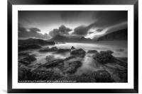 The Black Cuillins, Framed Mounted Print
