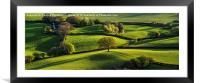 Skirrid Fields, Framed Mounted Print