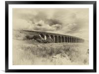 Ribblehead Viaduct, Framed Mounted Print