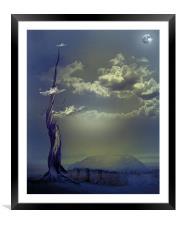 Beanstalk 2, Framed Mounted Print