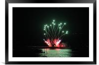 British Fireworks Chamionship 2012, Framed Mounted Print