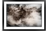 44871 Steam Locomotive, Framed Mounted Print