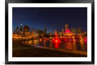 Chicago, Framed Mounted Print
