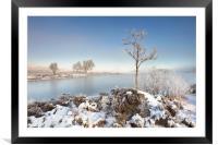 Loch Ba Winter, Framed Mounted Print