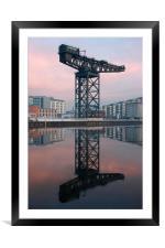 Finnieston Crane, Framed Mounted Print