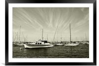 Set Sail, Framed Mounted Print