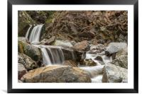 Speaks Mill Mouth Waterfall, Framed Mounted Print