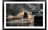 Misty Start, Framed Mounted Print