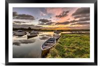 Velator Quay North Devon, Framed Mounted Print