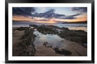 Croyde Bay North Devon., Framed Mounted Print
